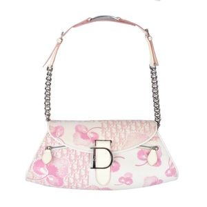 ISO Pink Dior Cherry Blossom Flower Bag